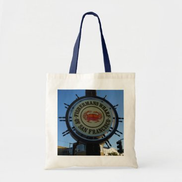 everydaylifesf San Francisco Fishermans Wharf Tote Bag