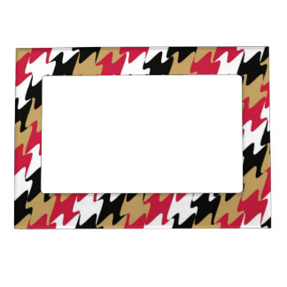 San Francisco Football Red and Gold Color Magnetic Photo Frame