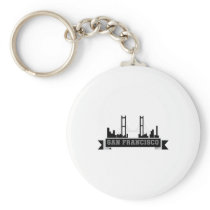 San Francisco for Men Women and Kids Keychain