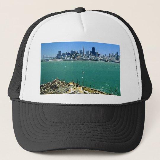 San Francisco from Alcatraz Trucker Hat