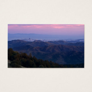 San Francisco from Mount Tam Business Card