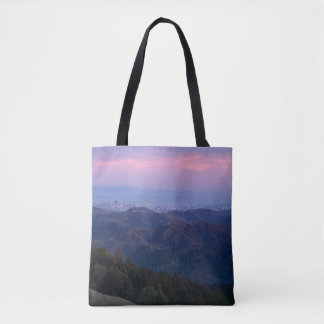 San Francisco from Mount Tam Tote Bag
