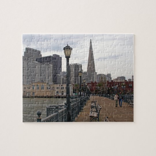 San Francisco from Pier 39 Jigsaw Puzzle