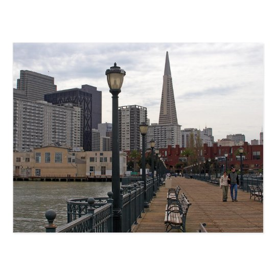 San Francisco from Pier 39 Postcard