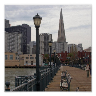 San Francisco  from Pier 39 Poster