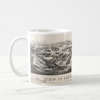 San Francisco from Telegraph Hill 1850 Coffee Mug