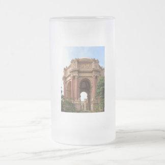 San Francisco Frosted Glass Beer Mug