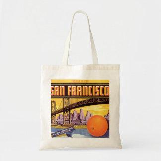 san francisco fruit tote bag