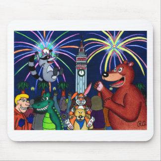 San Francisco Furry New Year Celebration Mouse Pad