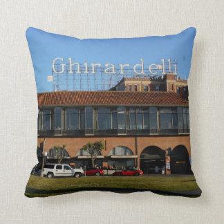 San Francisco Ghirardelli Square Throw Pillow