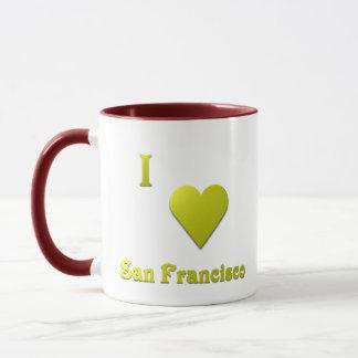 San Francisco -- Gold Mug