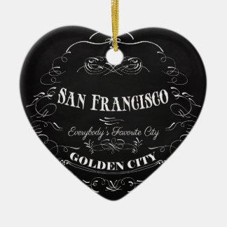 San Francisco, Golden City-Everybody's Favorite Ceramic Ornament