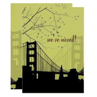 SAN FRANCISCO/GOLDEN GATE/ANNOUCEMENT/DIY COLOR CARD