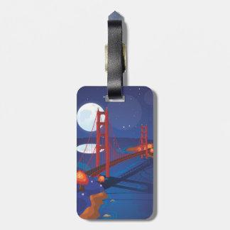 San Francisco Golden Gate Bridge Bag Tag