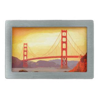 San Francisco Golden Gate Bridge Belt Buckle