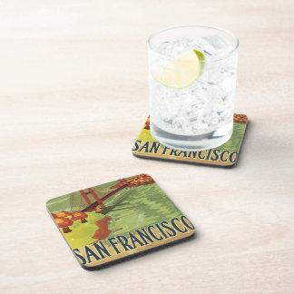 San Francisco Golden Gate Bridge Beverage Coaster