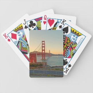 San Francisco Golden Gate Bridge Bicycle Playing Cards
