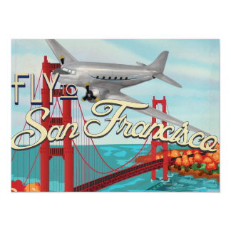 San Francisco Golden Gate Bridge Card