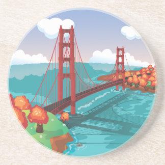 San Francisco Golden Gate Bridge Coaster