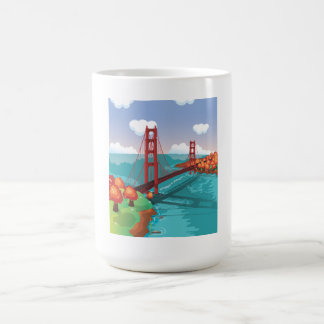 San Francisco Golden Gate Bridge Coffee Mug