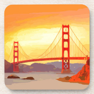 San Francisco Golden Gate Bridge Drink Coaster