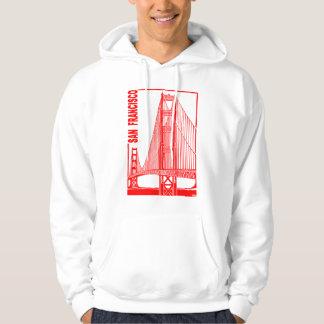 San Francisco-Golden Gate Bridge Hoody