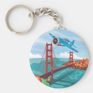 San Francisco Golden Gate Bridge Key Chain