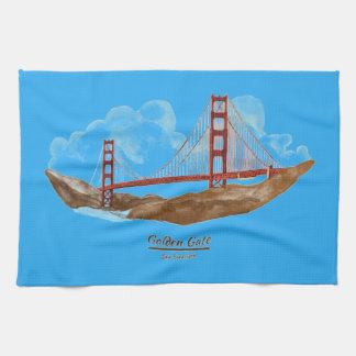 San Francisco Golden Gate Bridge Kitchen Towel