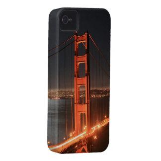 San Francisco Golden Gate Bridge Lit Up At Night iPhone 4 Case