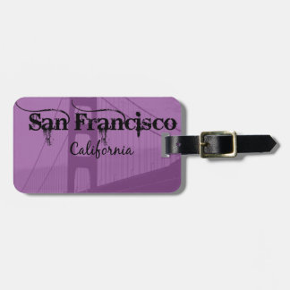 San Francisco Golden Gate Bridge Luggage Tag