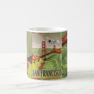 San Francisco Golden Gate Bridge Magic Mug