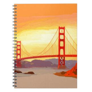San Francisco Golden Gate Bridge Notebook