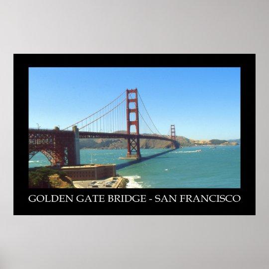 San Francisco Golden Gate Bridge - Photo Poster