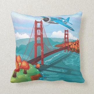 San Francisco Golden Gate Bridge Pillow