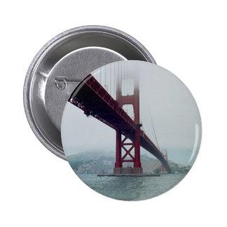 San Francisco Golden Gate Bridge Pinback Button