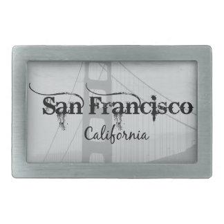 San Francisco Golden Gate Bridge Rectangular Belt Buckle