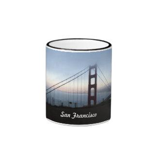 San Francisco Golden Gate Bridge Ringer Mug
