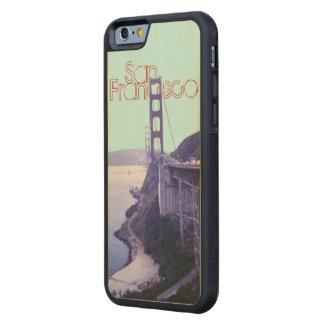 San Francisco Golden Gate Bridge SF Carved® Maple iPhone 6 Bumper