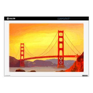 "San Francisco Golden Gate Bridge Skin For 17"" Laptop"
