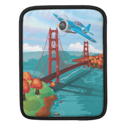San Francisco Golden Gate Bridge Sleeve For iPads