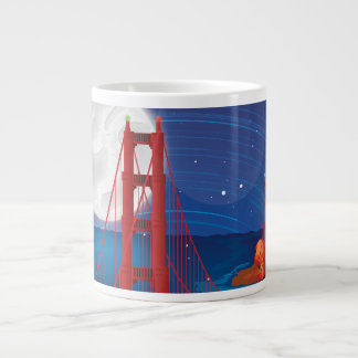 San Francisco Golden Gate Bridge Jumbo Mugs