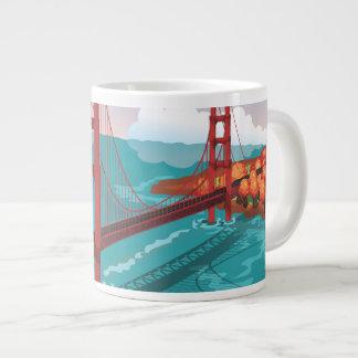 San Francisco Golden Gate Bridge Extra Large Mugs
