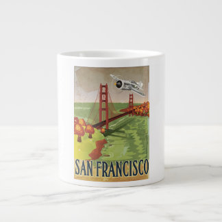 San Francisco Golden Gate Bridge Jumbo Mug