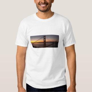 San Francisco Golden Gate Bridge Sunrise t-shirt