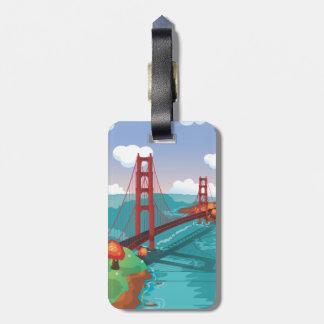 San Francisco Golden Gate Bridge Tags For Bags