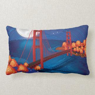 San Francisco Golden Gate Bridge Throw Pillow