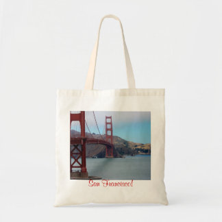 San Francisco, golden gate bridge Tote Bag