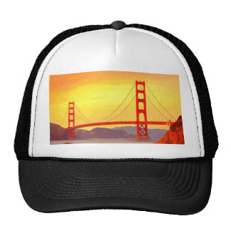 San Francisco Golden Gate Bridge Trucker Hat