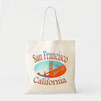 San Francisco Golden Gate Canvas Bag
