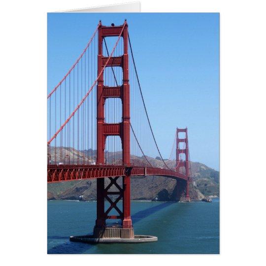 San Francisco Golden Gate Card